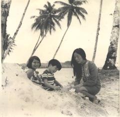 Guam 1970 - Tumon Beach